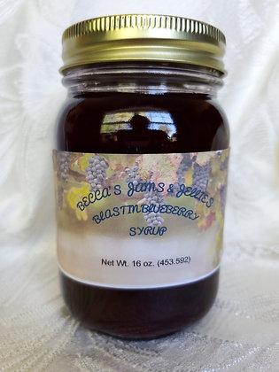 16 oz. Blastin Blueberry Syrup