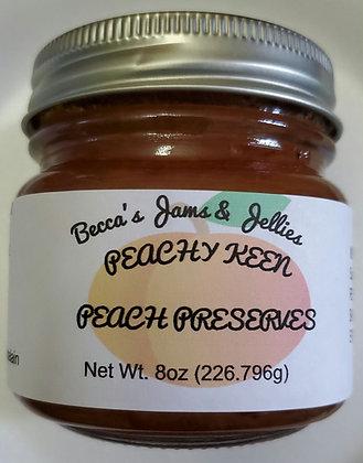 Peachy Keen Peach Preserves