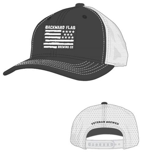 Backward Flag Soft Mesh Snapback c254a08c553