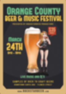 ORANGE COUNTY BEER AND MUSIC FESTIVAL