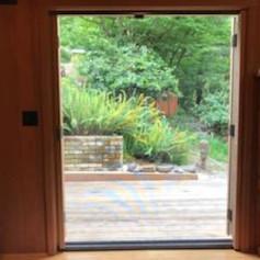 Stow Away Retractable Screen Door