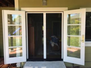 Stow Away Retractable Screen Door