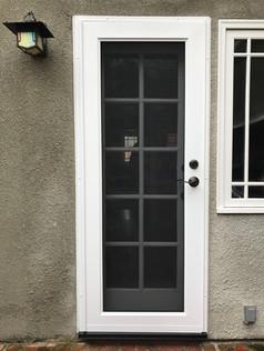 ViewGuard Security Screen Door