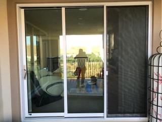 Sliding Screen Door Installation