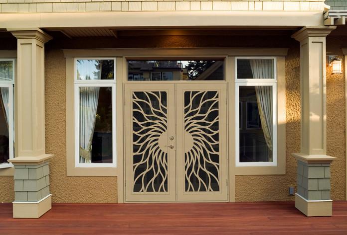 Sunfire Double Screen Doors