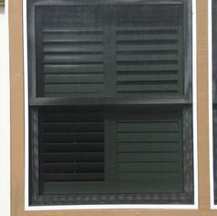 Solar Screen Installation