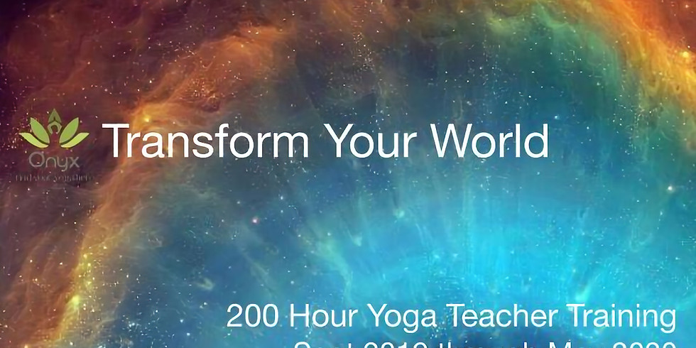 Onyx 200 Hr. Teacher Training