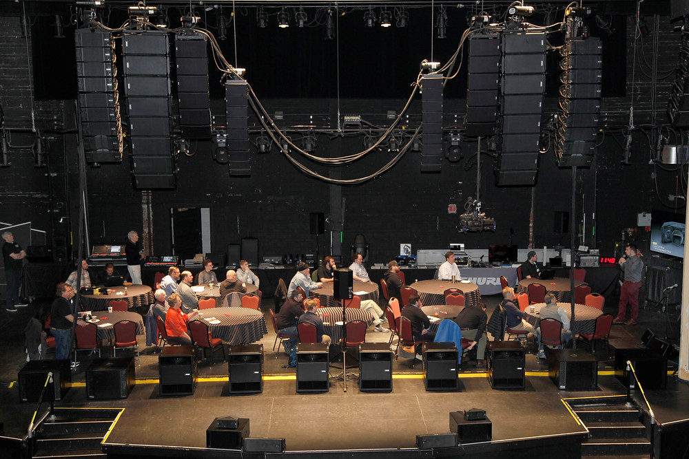 MFi Pro featured a number of Nexo speaker arrays