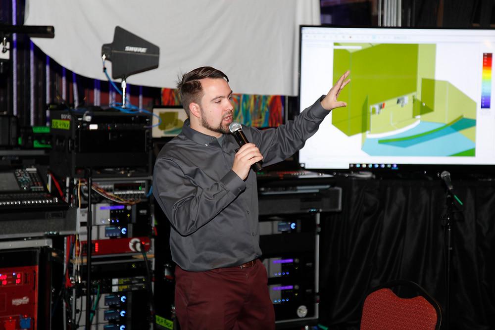 Preston Grey of Yamaha Digital speaks at MFi Pro's Expo