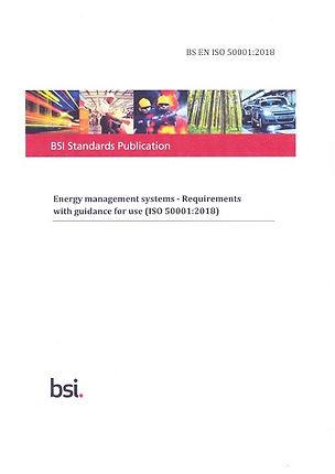 BSI 50001 2018 Standard