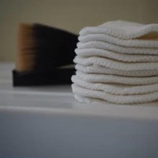 Baba + Boo Organic Cotton Reusable Make-up Wipes