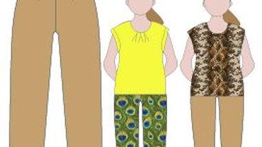 Dawn Trouser PDF Pattern Size 20-30