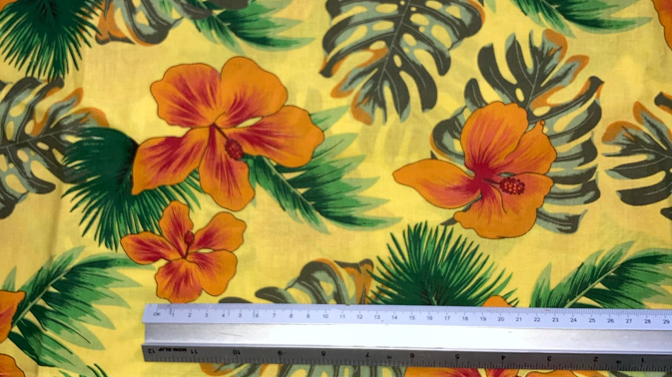 Fabric : Cotton floral print fabric