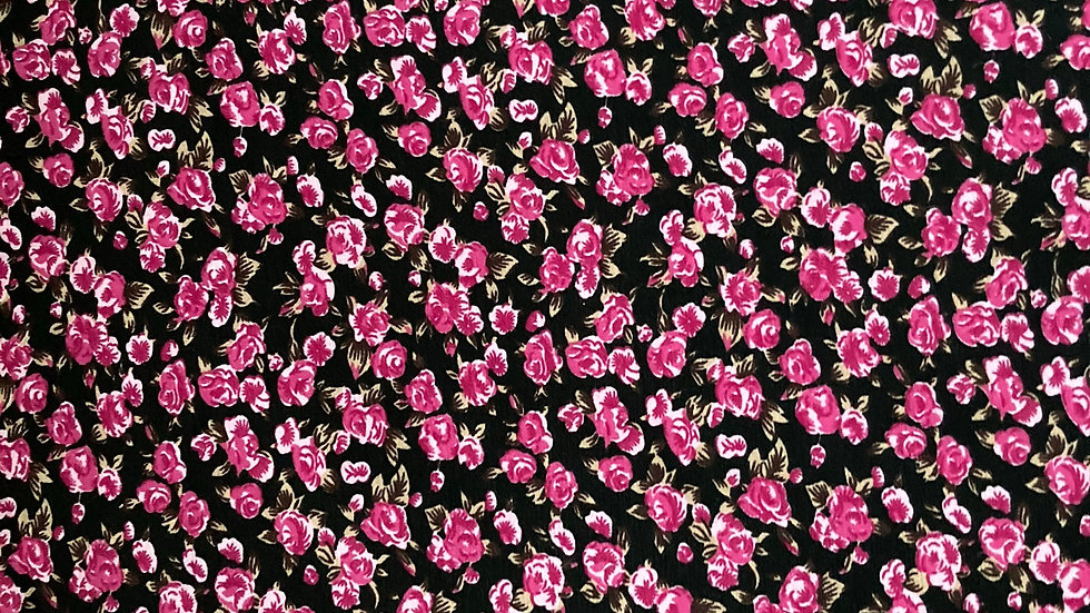 Fabric: Ditzy print  jersey