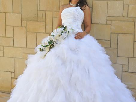 My daughter's wedding dress