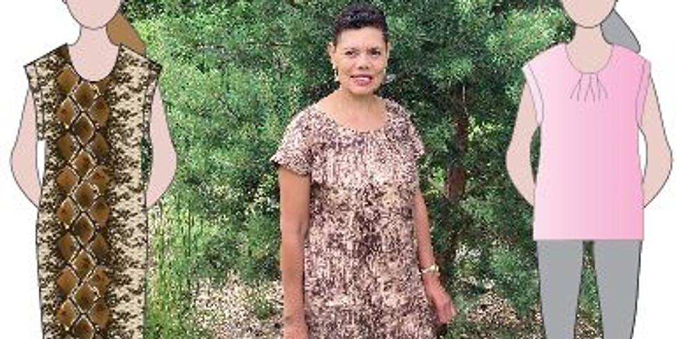 Sew a Melissa Top : Beginner Plus Level