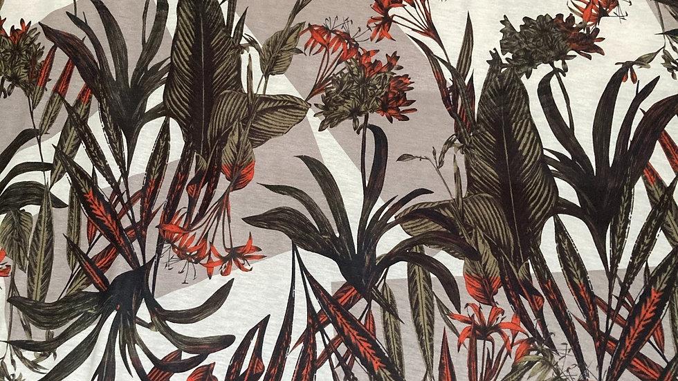 Fabric : Printed Stretch Fabric