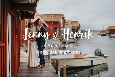 Bröllopsfotograf Smögen, Bohuslän | Jenny & Henriks blåsiga och underbara bröllopsdag
