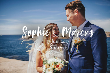 Bröllopsfotograf Smögen | Sophie & Marcus
