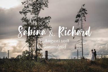 Urmysigt utomhusbröllp i Gammalrud | Sabina & Richard
