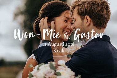 Bröllopsfotograf Kivik, Österlen | Won-Mie & Gustavs kärlek bland kullar och hav