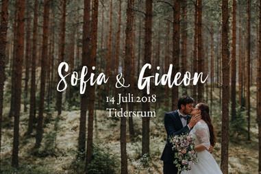 Bröllopsfotograf Tidersrum, Östergötland | Sofia & Gideons underbara och naturnära bröllop