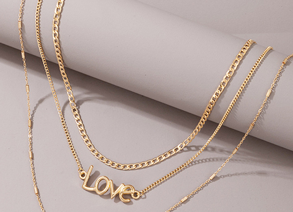 Love Multi Layre Necklace