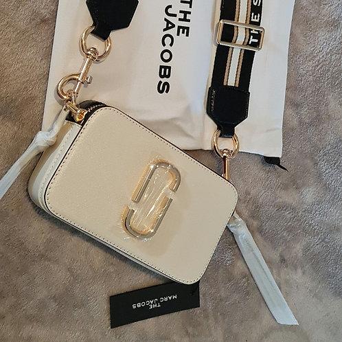 ♡PRE-ORDER♡ Cream/Black Crossbody Bag