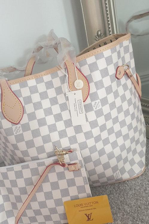 ♡PRE-ORDER♡ Celeb Square Bag Set Cream 10-20 Days