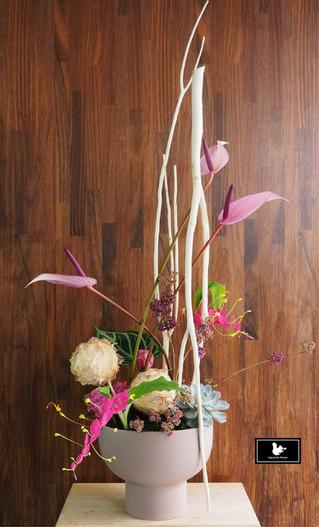 生活花藝課程作品分享