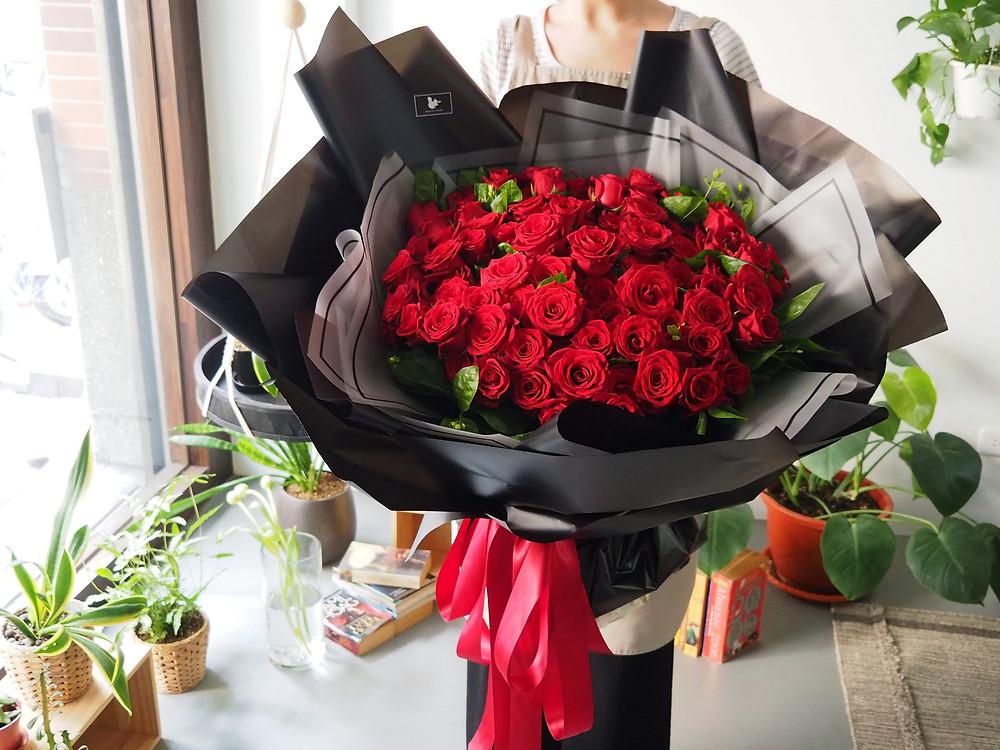 108朵玫瑰