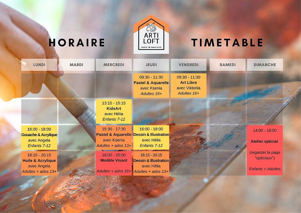 Artiloft Schedule.jpg
