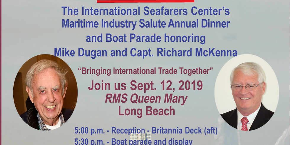 ISC's Maritime Industry Salute Annual Dinner - 2019