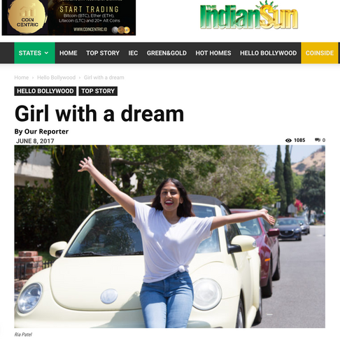 Girl with a dream