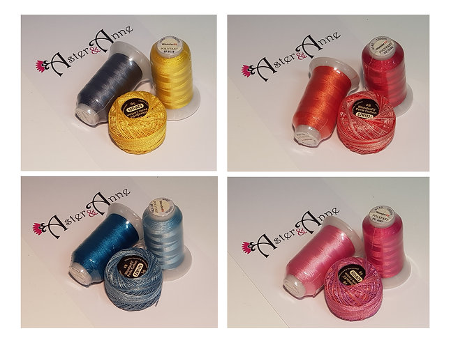 Chain of Hearts Threads 3 Pack