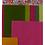 Thumbnail: 3D Luella Clutch Flower Pattern & Fabric