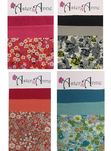 Chain Of Hearts Fabric Pack
