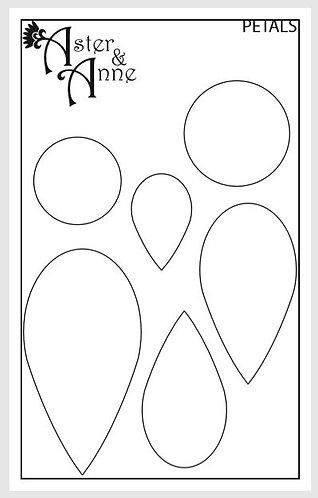 Stencil - Petals