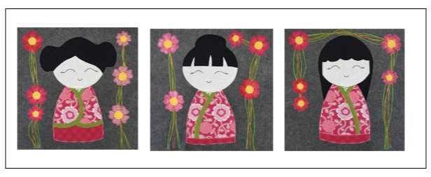 Kimono Triple Cushion Cover Pack
