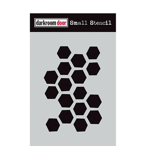 Arty Hexagons Stencil