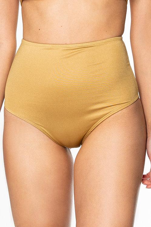 Hot Pant Dourada