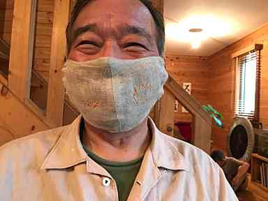 父のマスク