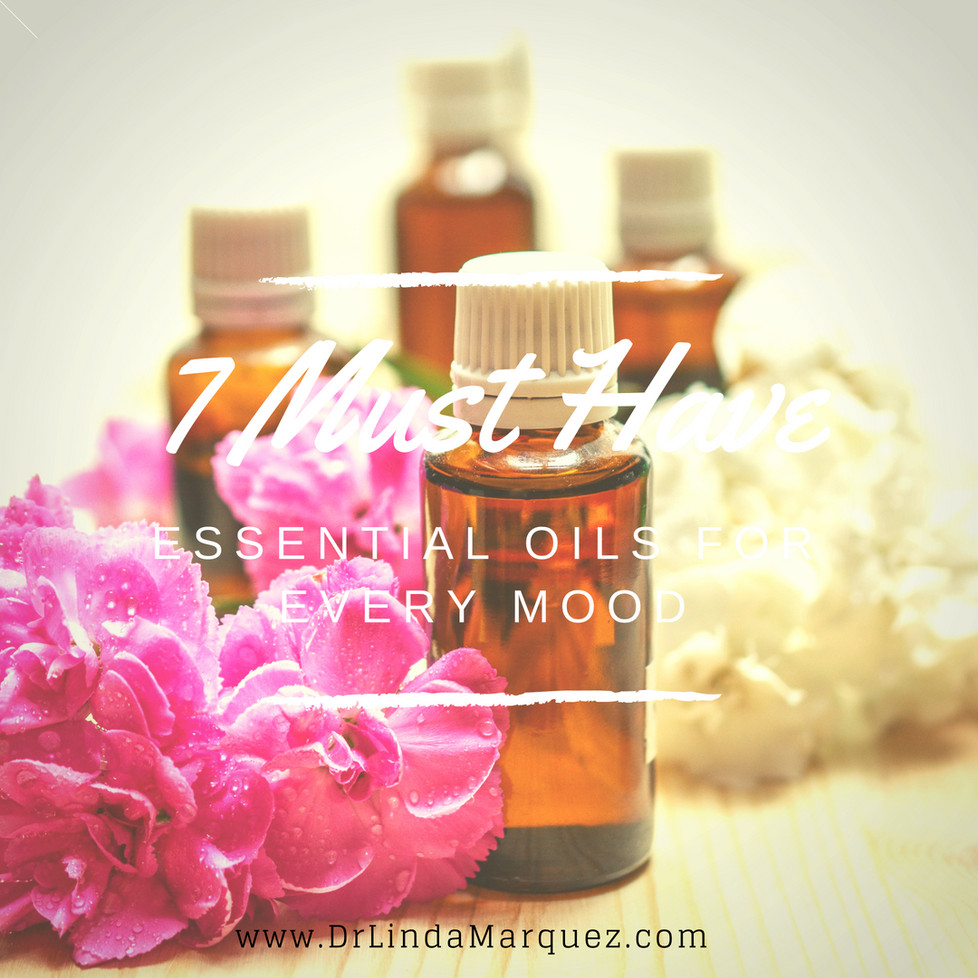 7 Must Have Essential Oils for Every Mood