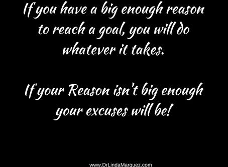 Stop Fighting for Excuses!