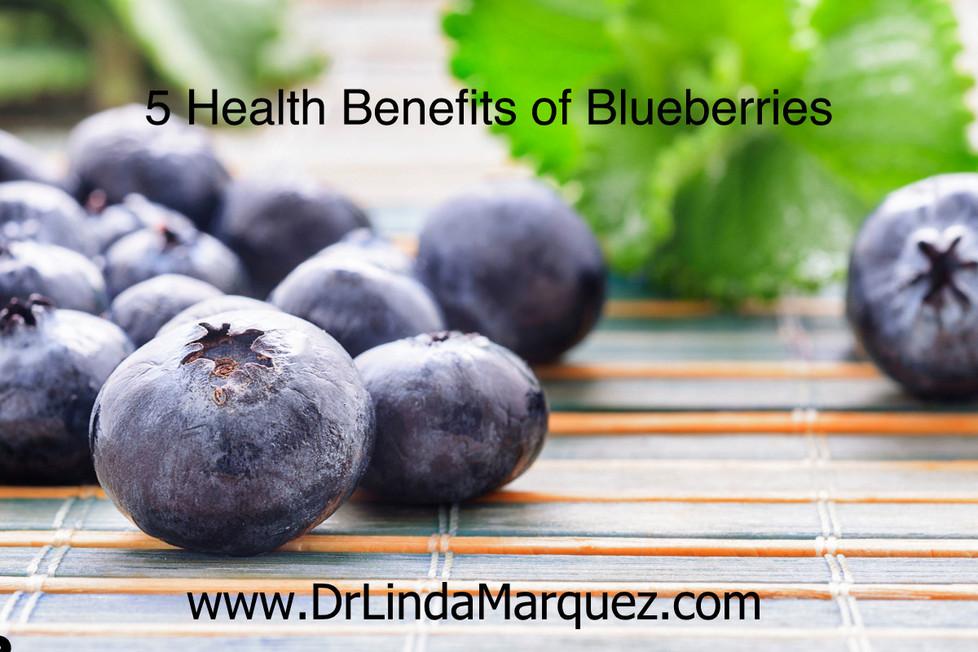 5 Health Benefits of Blueberries