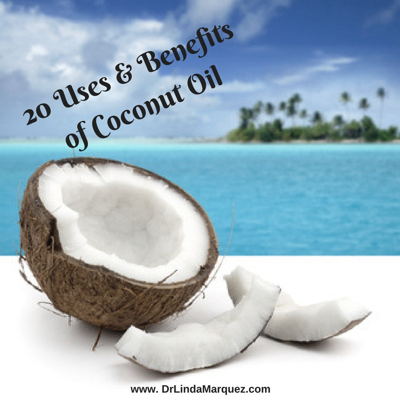 20 Uses & Benefits of Coconut Oil