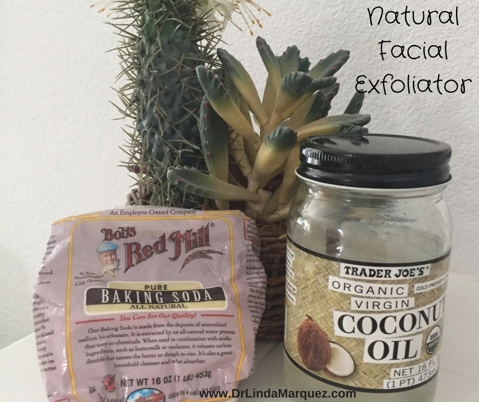 DIY Baking Soda & Coconut Oil Skin Exfoliator