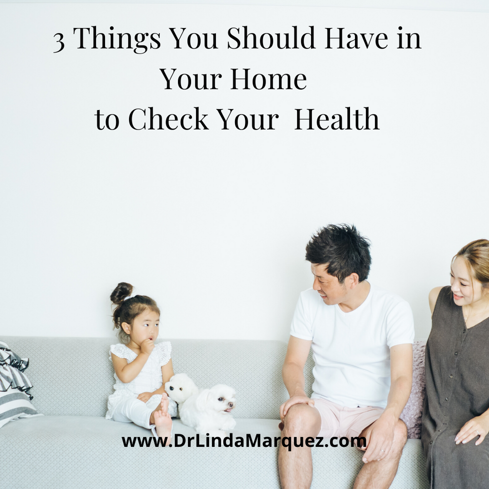 3 Things You Should Have In Your Home To Check Your Health