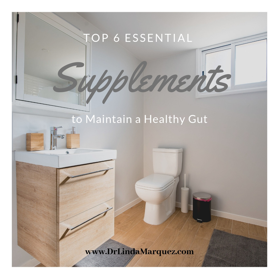 Top 6 Essential Supplements to Maintain a Healthy Gut