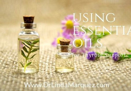Using Essential Oils for Thyroid Support